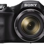 Sony DSC-H300/BC E32 Cyber-Shot Point & Shoot Digital Camera (Black) 35x Optical Zoom with Camera Case